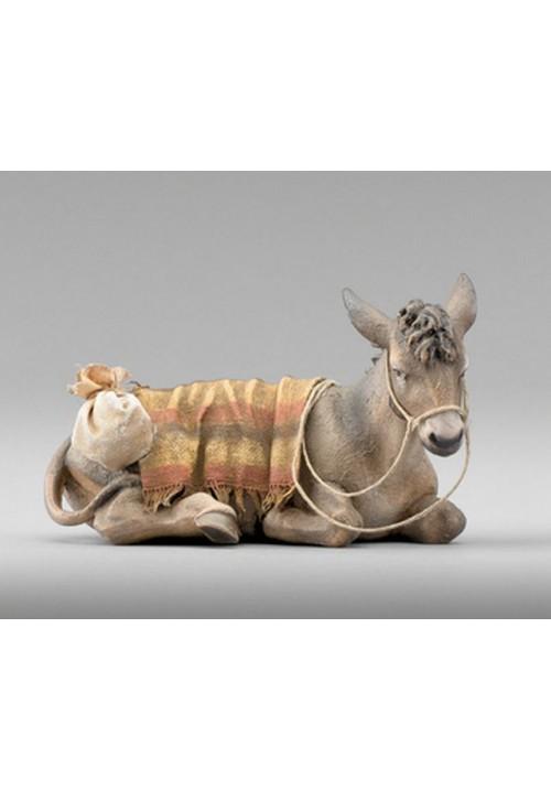 Immanuel Esel liegend bepackt color