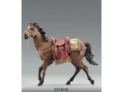 Immanuel Pferd, besattelt für König color