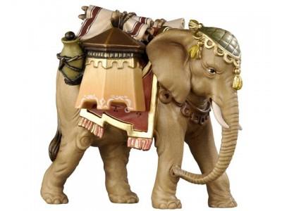 KO Elefant mit Gepäck color